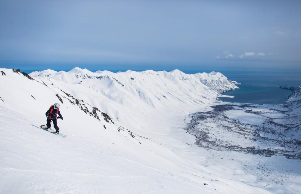 Хели ски в России
